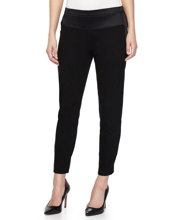 halston-heritage-black-sweatpants