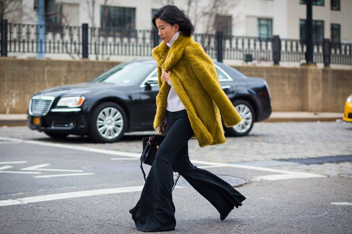 yellow-faux-fur-bright-coat-style-du-mode
